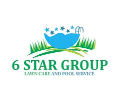 pool service logo. 6star-group-pool-service-logo-designer Pool Service Logo