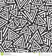 Abstract Art Black And White Patterns Abstract Black And White Seamless Pattern Vector Stock