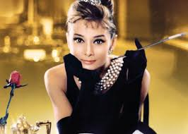 Image result for picture of audrey hepburn breakfast at tiffany's