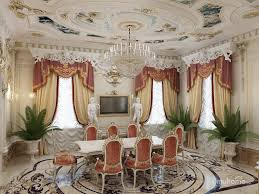 classic style interior design. The Ceiling In Classical Style Is Usually White, Decorated With Stucco Friezes. Unique Living Hall Interior Design Classic E