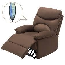 reclining sofa chair. Microfiber Massage Recliner Sofa Chair Ergonomic Lounge Swivel Heated  W/Control Reclining Sofa Chair R