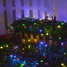 40m 300 led string lights multi color battery fairy starry light 8 modes garden ebay
