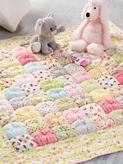 & Easy Puff Baby Quilt & Quick & Easy Puff Baby Quilt Adamdwight.com
