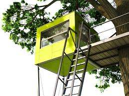 With These Colorful Cubes, Even Tree Houses Are Going Prefab