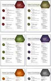 Resume Templates For Publisher 50 Free Microsoft Word Resume Templates For Download