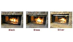 gas fireplace inserts glass beads s ideas stone