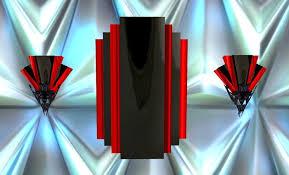 art deco wall sconces. GOTHIC ART DECO RED/BLACK ELEGANCE WALL HANGING/SCONCE. E26666fec6e40b7a3b07e5c38b0ff369 4c8f9edee7ffc506d504076f2958ac3f Art Deco Wall Sconces