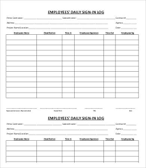 employee sheet template employees sign in sheet army markone co