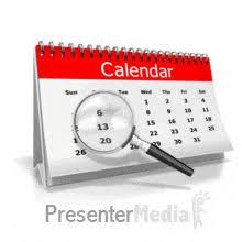 Searaching Desk Calendar Days