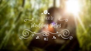 Wedding Title Wedding Title Free 02 Motion Cut Pro