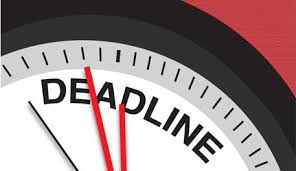 Image result for deadline clipart