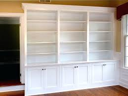 built in shelves and cabinets custom storage ideas 17