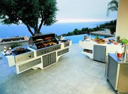 viking custom outdoor kitchen barbecue grill and bbq island components
