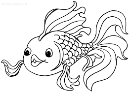 Small Picture Printable Goldfish Coloring Pages For Kids Cool2bKids