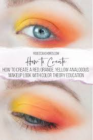 how to create a red orange yellow