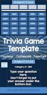 Free Jeopardy Template With Sound Jeopardy Template With Sound Effects Jeopardy Powerpoint Template