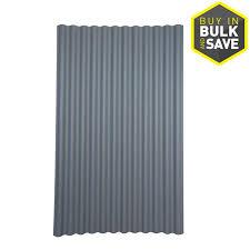 ondura 4 ft x 6 58 ft corrugated asphalt roof panel