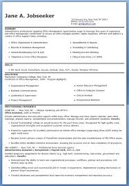 Examples Of Administrative Resumes Extraordinary Office Assistant Resume Templates] 48 Images Sample Of School