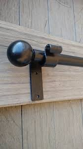 pin on metal wood curtain pole rods