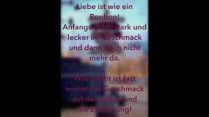 Liebe Ist Wie Ein Bonbon Spruch Des Tages Zitate German Youtube