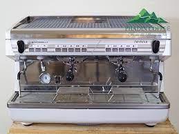 Máy pha cà phê Nuova Simonelli Appia 2 Group New 99% (trắng) - Phadin Coffee
