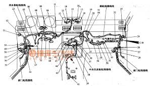 mitsubishi pajero light off road vehicle circuit instrument panel mitsubishi pajero light off road vehicle circuit instrument panel wiring harness configuration circuit diagram