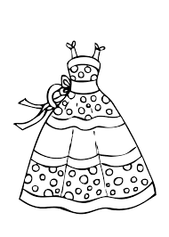 Coloring Dress Fresh Barbie Coloring Pages Fashion Dress Lovely Easy