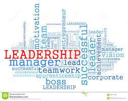 Leadership Word Cloud Concept Stock Illustration