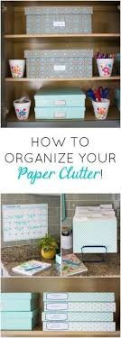 organizing office desk. 7 Simple Steps To Organizing Your Paper Clutter! Office Desk