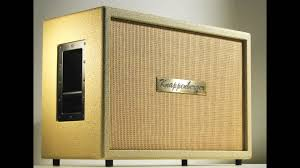 Custom Guitar Speaker Cabinets Knappenberger Custom Shop 2x12 Cream Tolex Cane Grill Guitar