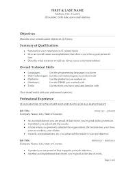 Good Objectives On A Resume Job Objective Resume Excellent Resume