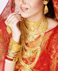 anjali jewellers gold wedding collection. traditional bengali gold wedding jewellery anjali jewellers collection