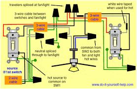 light switch wiring ceiling fan wiring