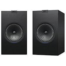 kef c series. kef q350 bookshelf speakers (pair, black) kef c series
