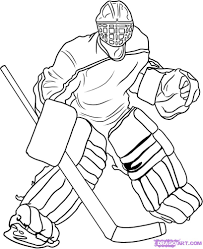 Small Picture Hockey Coloring Page 29064 Bestofcoloringcom