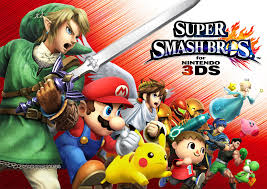 Super Smash Bros For Nintendo 3ds Claims Second In Npd