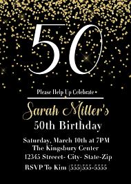 50th Birthday Invitations Templates Birthday Invitations Classy 50th Birthday Party Invitations