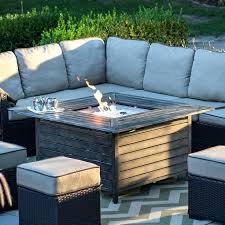bond outdoor gas fireplace red ember willow aluminum propane gas fire pit table from bond gas fire pit