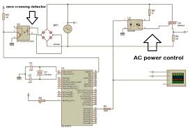 ac power control thyristor using pic microcontroller