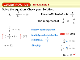 17 solve the equation check your