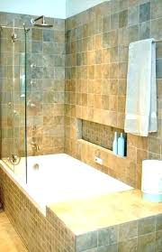 showers shower bath combo bathtub design ideas tub and fixtures