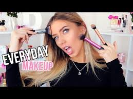 09 00 everyday makeup routine tutorial 2016 tips zoella