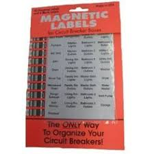 leviton residential multimedia surge protection panel 005 51110 magnetic circuit breaker labels