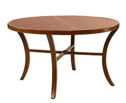 transitional 54 round dining table by castelle