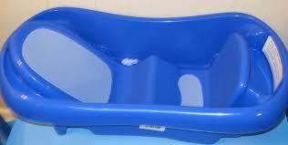 whale baby bath tub blue