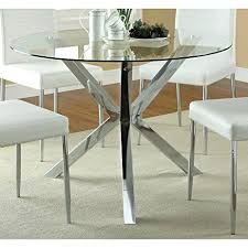 modern round glass dining table com modern round tempered glass dining table made with within remodel modern glass dining table and 6 chairs