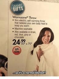Warmzone Throw Blanket