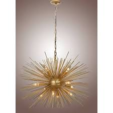 chandelier jonathan adler c unique sputnik meurice vintagerome lighting chrome atom light fixture knock off brass