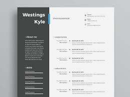 Modern Resume Template Free Download Word Modern Cv Template Psd Free Download Resumekraft