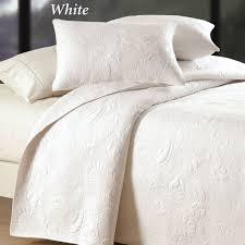bedroom design herringbone persimmon matelasse coverlet and